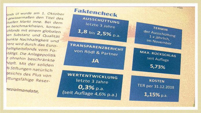Fondswoche - Merck-Finck-Stiftungsfond
