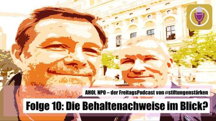 Teaserbild Podcast AHOI NPO Folge 10 - Behaltenachweise