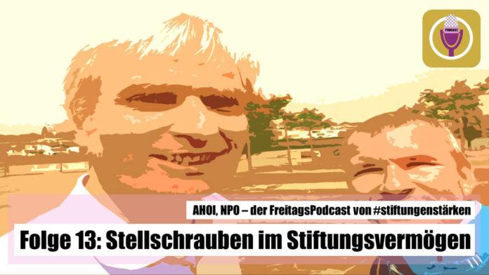 Podcast AHOI NPO Folge 13 - Stellschrauben im Stiftungsvermögen