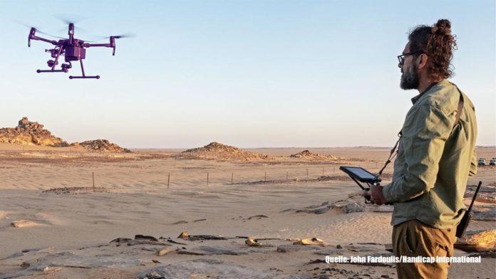 Drohne - Handicap International