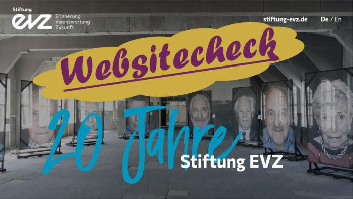 Websitecheck - 20 Jahre EVZ