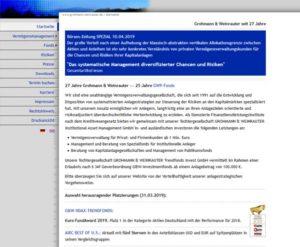 Grohmann Weinrauter VermögensManagement GmbH
