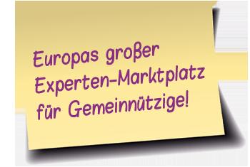 Stiftungsmarktplatz.eu: Das Portal für Stiftungsdienstleister - NGOS, gemeinnützige Organisationen, Dritter Sektor.