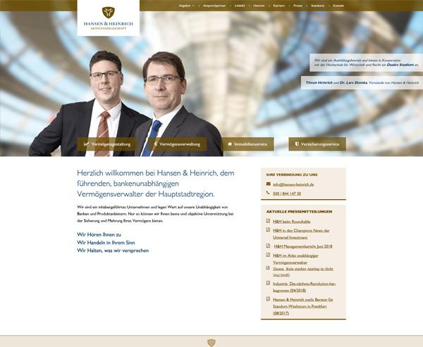 Hansen & Heinrich AG
