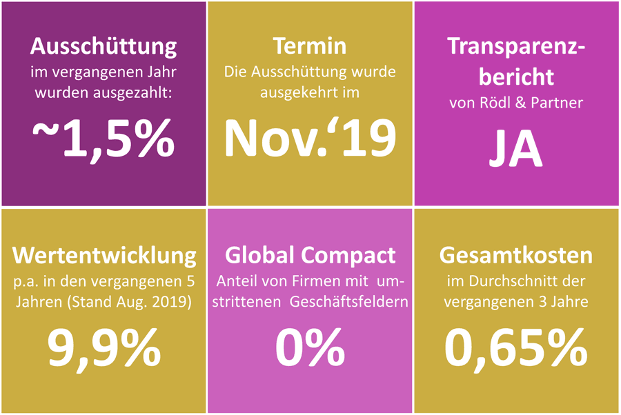 Visual Key-Facts terrassisi Aktien AMI