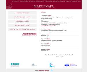Maecenta Stiftung