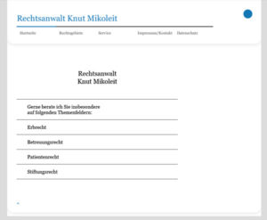 Rechtsanwaltsbüro Mikoleit - RA Knut Mikoleit