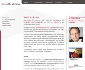 Kanzlei Dr. Mecking