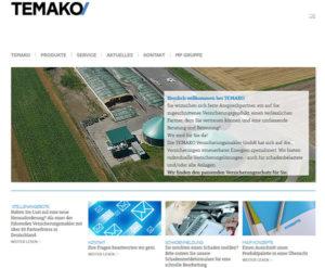 TEMAKO Webseite