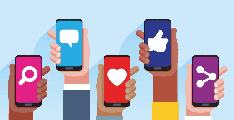 Mit Social Media Kanälen Aufmerksamkeit generieren