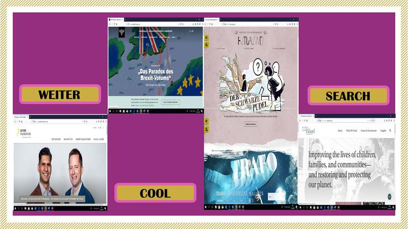 Die coolsten Stiftungswebsites