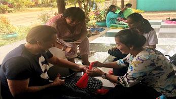 Die Projektreise führt nach Kampong Cham