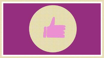 Social-Media - Daumen hoch