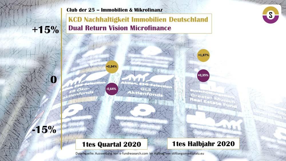 Analyse Club der 25 Immobilien und Mikrofinanz