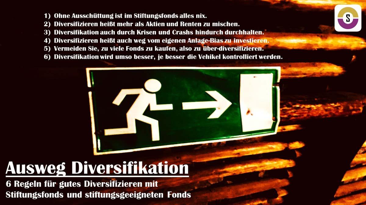 Ausweg Diversifikation