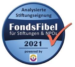 FondsFibel 2021 - Analysierte Stiftungseignung