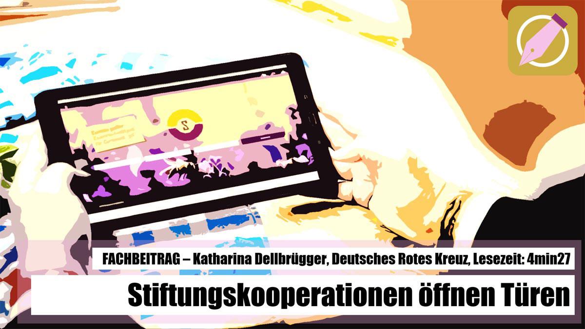 Fachbeitrag - Deutsches Rotes Kreuz - Stiftungskooperationen bringen Lösungsansätze zusammen